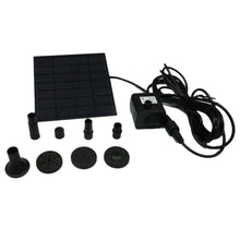Load image into Gallery viewer, Techme Solar Power Fountain Water Pump