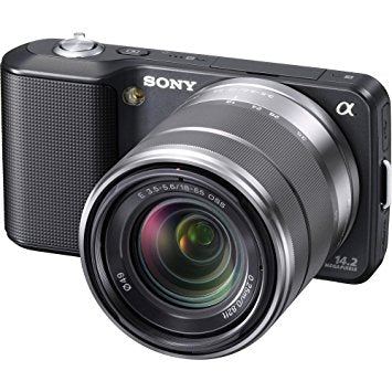 SONY NEX-3 14.2MP with 16mm f2.8 Lens Optical Steady Shot Camera with bag - USED