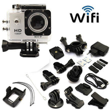 Load image into Gallery viewer, Full HD Sports Action WIFI Cam -  Black - Awesome Imports - 1