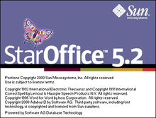 Load image into Gallery viewer, StarOffice 5.2