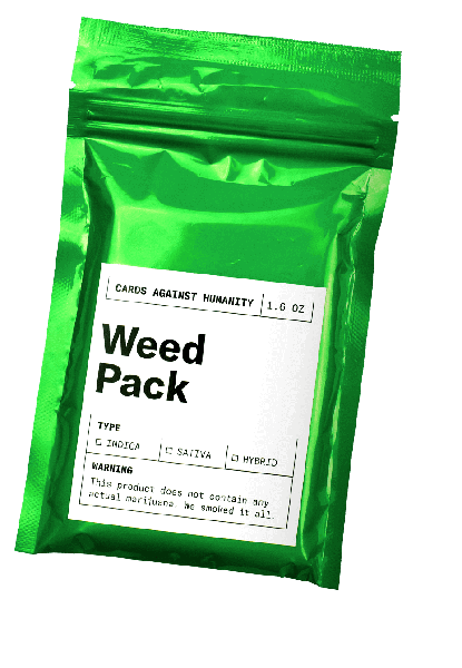 Cards Against Humanity: Weed Pack Expansion Set