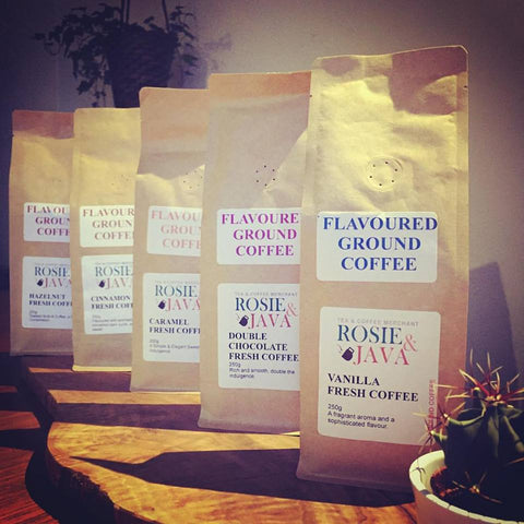 Vanilla Flavoured Ground Coffee 200g