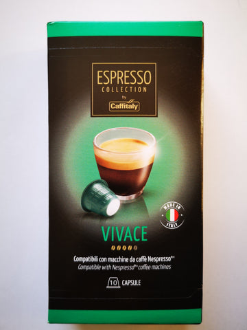 CAFFITALY NESPRESSO® COMPATIBLE CAPSULES - VIVACE