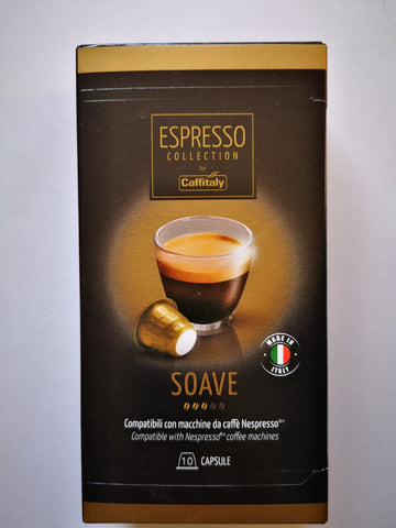 CAFFITALY NESPRESSO® COMPATIBLE CAPSULES - SOAVE