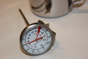 Jug Thermometer With Clip (42mm Diameter)