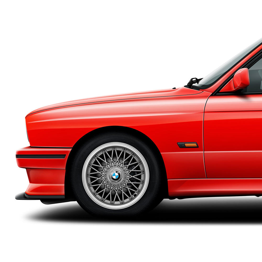 BMW E30 M3 Sport Evolution automotive art print