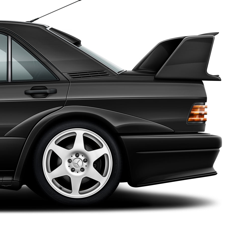 Mercedes-Benz 190E Evolution II Print