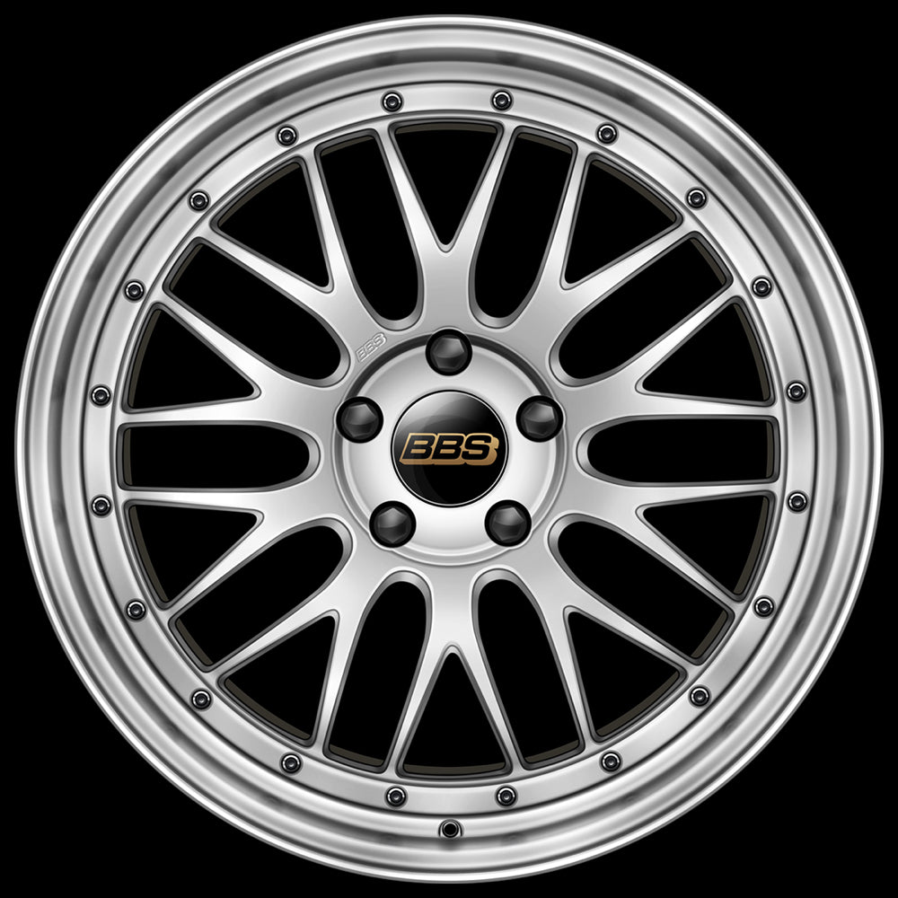 Modern Classic Wheels automotive art print - BBS LM