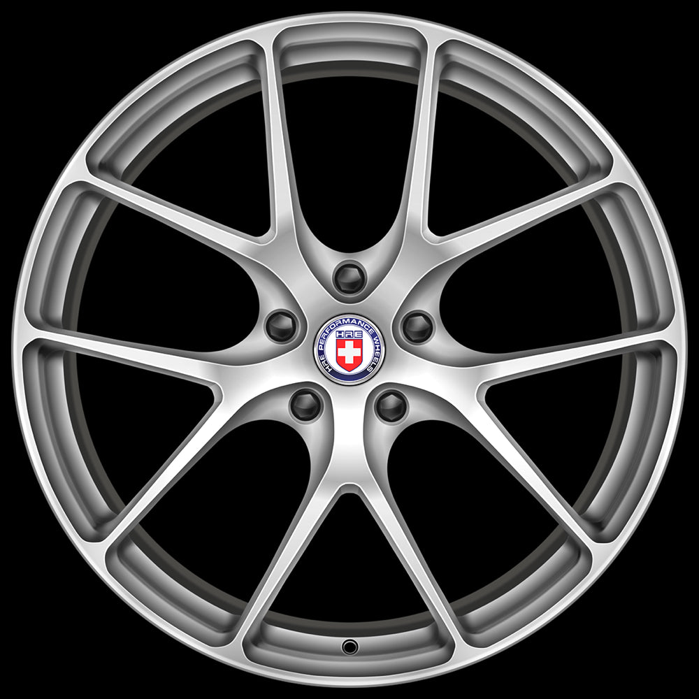 Modern Classic Wheels automotive art print - HRE P101