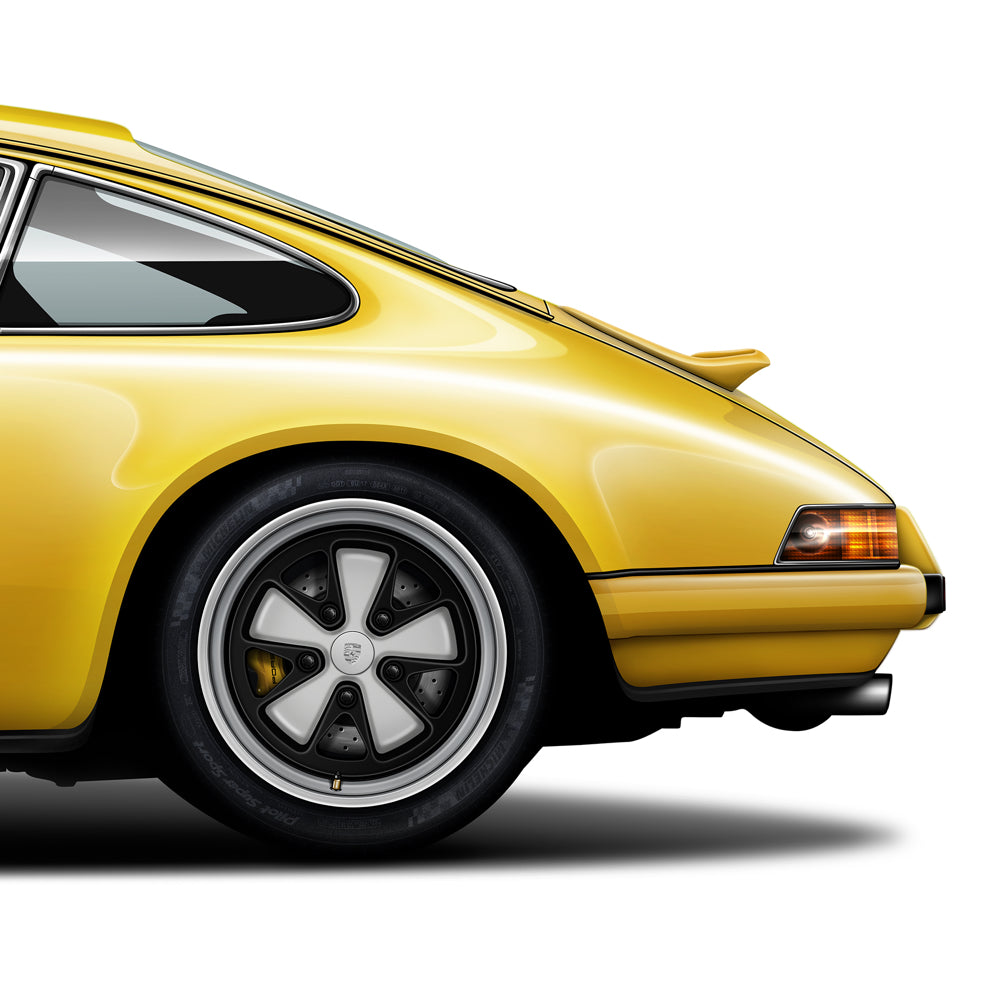 Porsche 911 Singer Vehicle Design automotive art print
