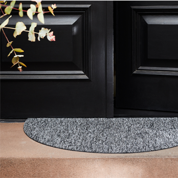 Welcome Mat Heathered grey