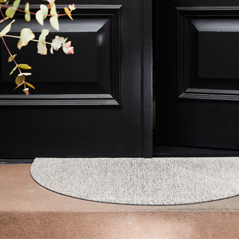 Welcome Mat Heathered pebble