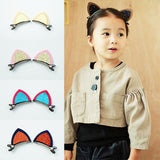 Lovely Cat ears Hairpins girl Hair Accessories