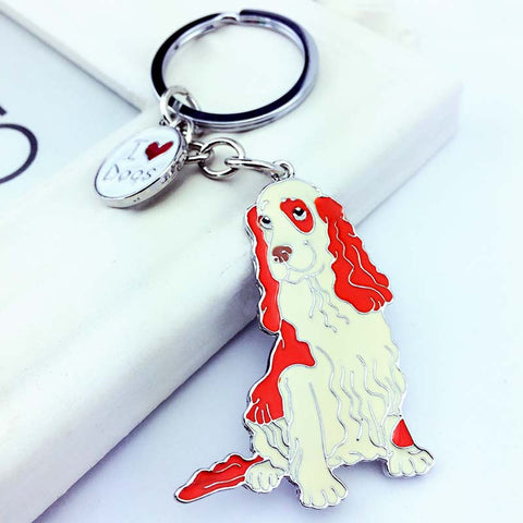 Cocker Spaniel Keychain for Door/ Car Keys or Bags