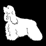 Cocker Spaniel Dog Car Sticker Decals