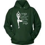 Love Yoga Hoodie (8 colors , 8 sizes )