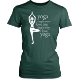 Love Yoga Women's Shirt (8 colors , 8 sizes)