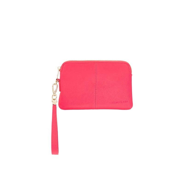 Bowery Coin Purse - Raspberry