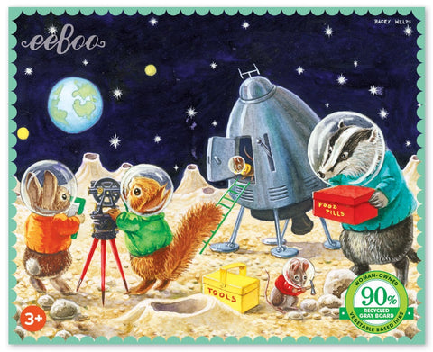 Mini Puzzle - On the Moon 36 PCE