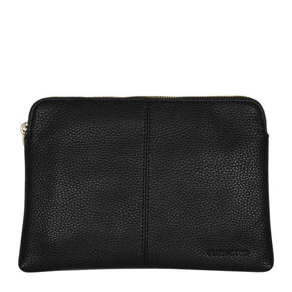 Double Bowery Wallet - Black
