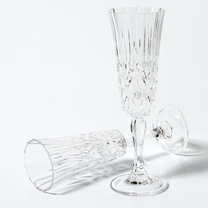 Pavillion Acrylic Flute Glass | Clear