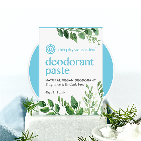 Fragrance & Bi-Carb Free Deodorant by The Physic Garden 60g