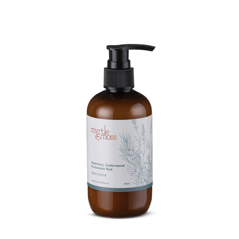 BODY LOTION LAVENDER BUD, ROSEMARY & CEDARWOOD