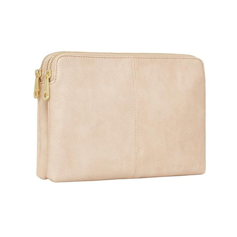 Double Bowery Wallet - Nude