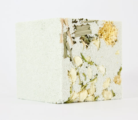 NATURAL EFFERVESCENT BATH CUBE - UPLIFT
