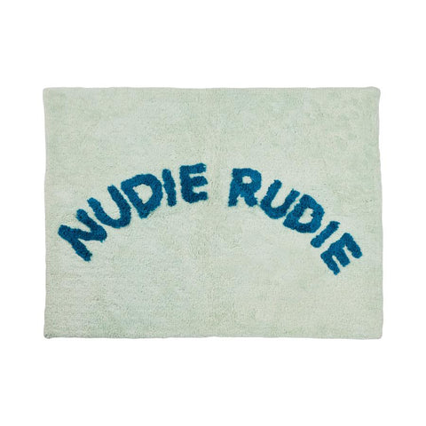 NUDIE BATH MAT - MINT