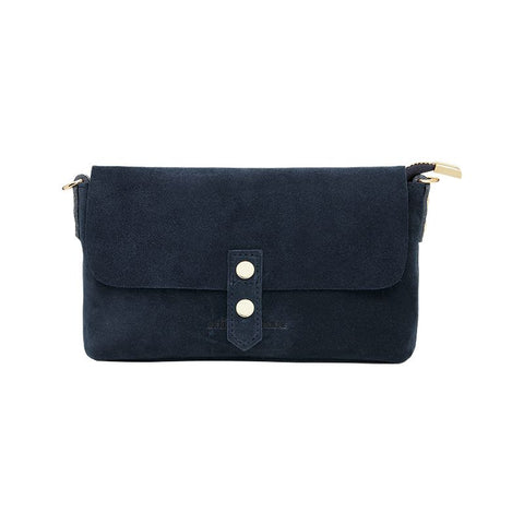Arlington Milne || Zara Saddle Bag - Spot Suede