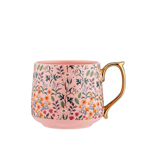 Flowering Fields Mug - Pink
