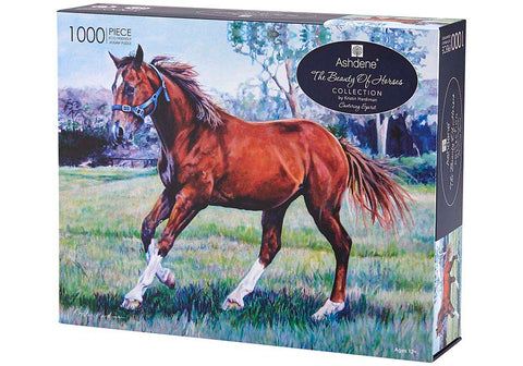Beauty of Horses || Cantering Spirit - 1000 PCE PUZZLE