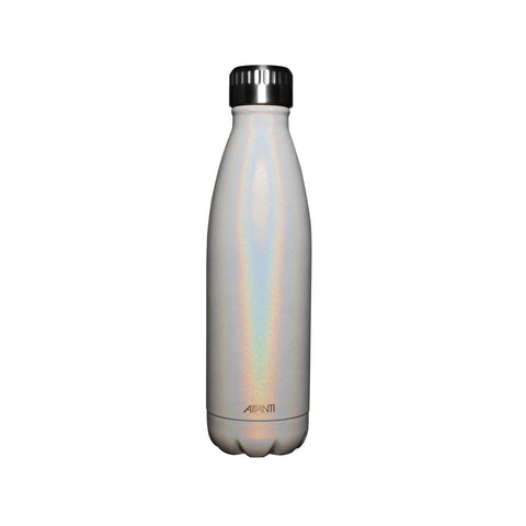 Pearl White Water Bottle | Stainless Steel | 500ML