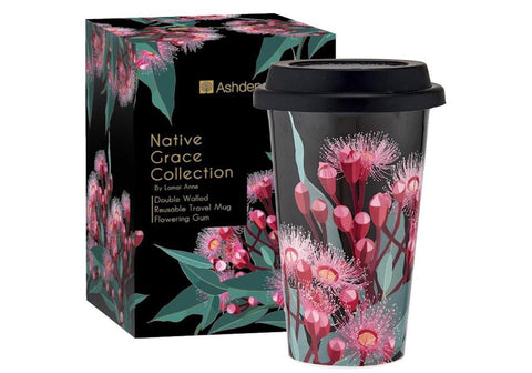 Native Grace Blue Gum Travel Mug
