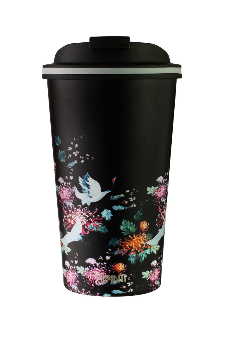 Japanese Crane Double Wall GO CUP 410ML (L)