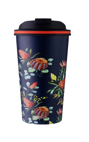 Navy Natives Double Wall GO CUP 410ML (L)