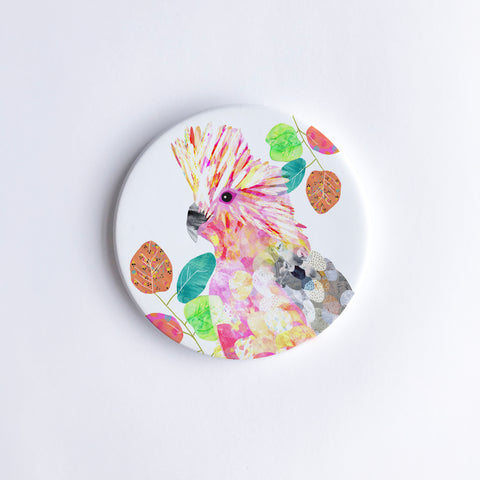 Galah Ceramic Coaster {Dispatch from Feb 21st}