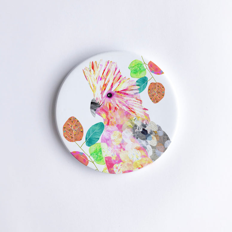 Galah Ceramic Coaster