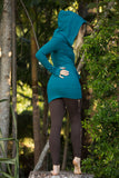 Athena Jacket (Sea Blue) - Hoodie Long Jumper Hoodie Jumper Sweater Sexy Warm Comfy Lioness