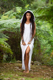 Lunar Dress (White) - 100% Cotton Festival Clothing Bohemian Gypsy Hippie Wild Sexy