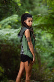 Embroided Festival Vest (Green) - Comfortable Bohemian Gypsy Style Hooded Vest Tough