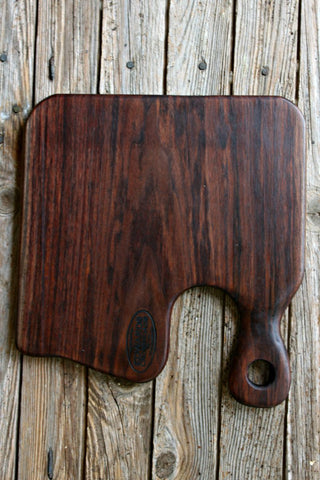 No. 477 Black Walnut Cutting and Serving Board