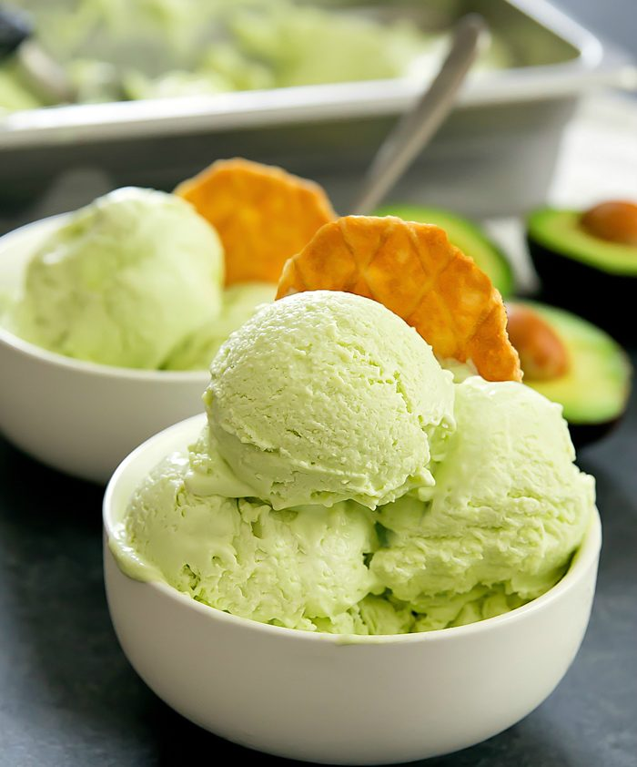 Avocado Ice Cream, Because Why Not?
