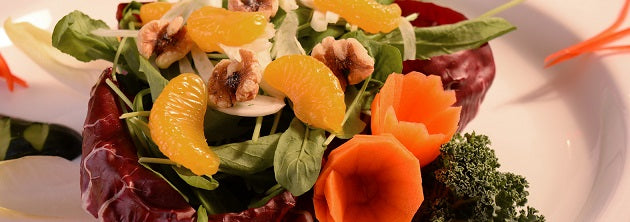 Our April Salad - from a wedding in the summer!