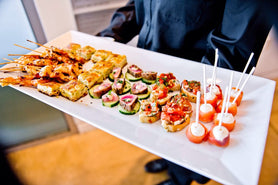 Catered Cocktail Hors D'oeuvres Hour Made Simple from Tasty Table Philadelphia Event Catering