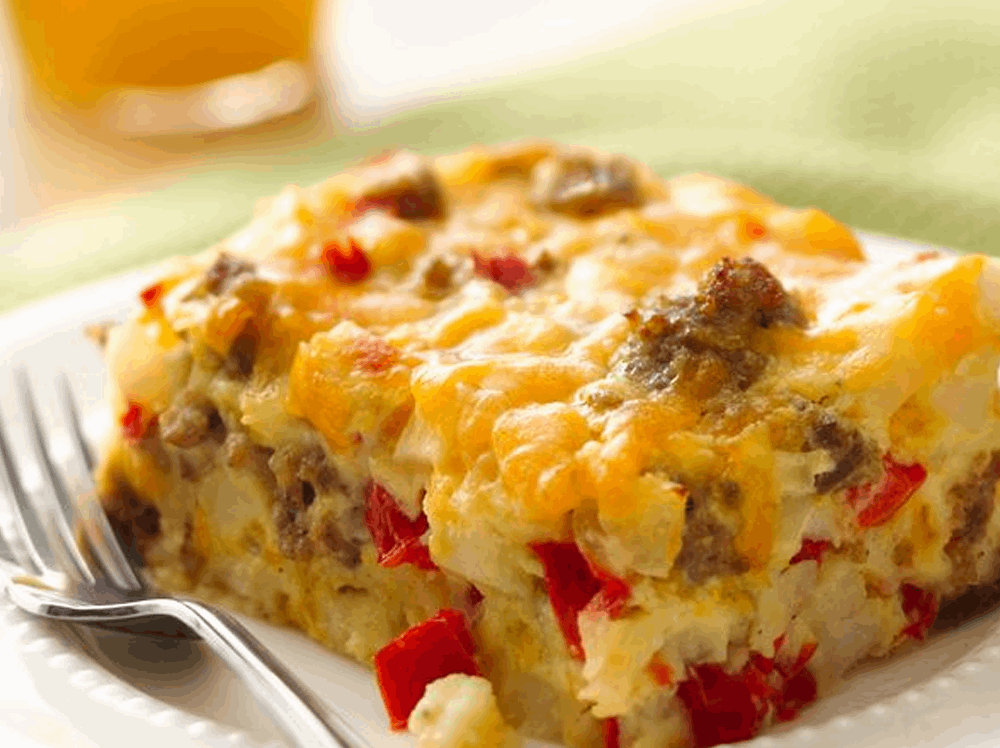 Breakfast Casserole from Tasty Table Philadelphia Event Catering