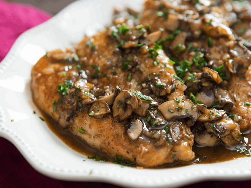 Chicken Marsala Luncheon