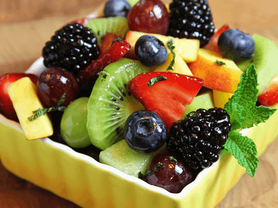 Seasonal Fruit Salad