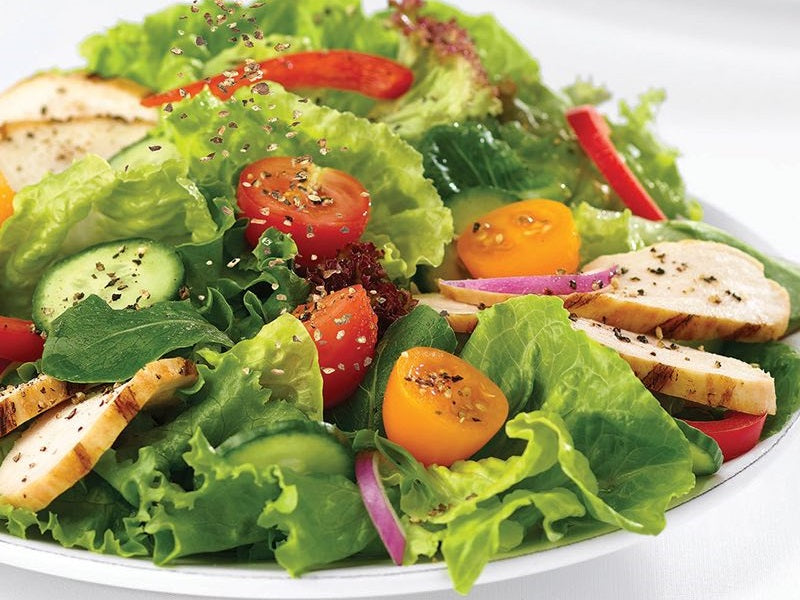 Garden Salad w/ Grilled Chicken Breast